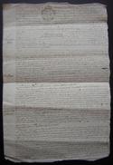 1753 Généralité De La Rochelle Saint Jean D' Angely, Peluchon Avocat Contre Le Seigneur Des Granges - Manuscripts