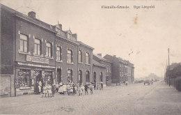Ag - Cpa Belgique - Flémalle Grande - Rue Léopold - Flémalle