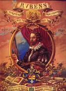 (chocolat) AIGLON « Rubens » - Album INcomplet (variété Représentant Les Albums Sur Le 4e Plat) - Aiglon
