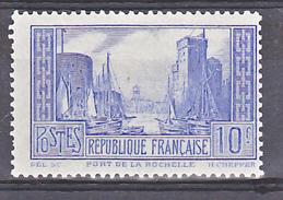 France 261 B Type 1 La Rochelle Dent Irreg Neuf Avec Trace De Charnière  * TB  MH  Con Charnela Cote 125 - France