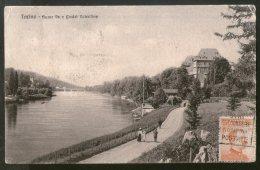 Italy 1921 Torino Castle Valentine Bridge To Finland View Picture Post Card # 217 - Italy