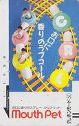 Télécarte Ancienne Japon / 110-9517 - PARC D'attraction - DENTAL & AMUSEMENT PARK - Japan Front Bar Phonecard / B - Jeux