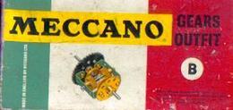 MECCANO GEARS OUTFIT B - Boîte D'origine Bien Complète - Meccano