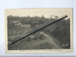CPA Très Souple - Moisdon La Rivière - La Forge Prise De La Charpenterie - Moisdon La Riviere