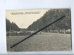 CPA  - Ecole Du Calvaire - Pont Château -Pontchâteau-Une Partie De Football Sur Le Terrain Du Pèlerinage - Pontchâteau