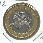 Lituania_2002_2 Litai. KM 112 - Lituania