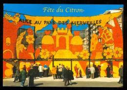 MENTON  Fête Du Citron Alice Aux Pays Des Merveilles édition Michel ROHART GM V - Menton