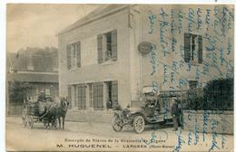 Haute Marne Langres Entrepot De Bieres De La Brasserie De Vignes M; HUGUENEL Voiture Chariot Carte TRES RARE - Langres