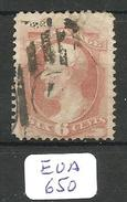 EUA Scott 159 Cancel Supplementary Mail YT 42 # - Used Stamps