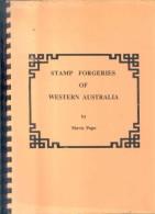 STAMP FORGERIES OF WESTERN AUSTRALIA BY MAVIS POPE  YEAR 1992 108  PAGES BOOK RARISIME - Fälschungen Und Nachmachungen