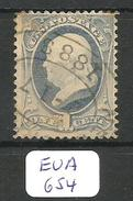 EUA Scott 145 YT 39 # - 1847-99 General Issues