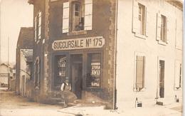 ¤¤  -  HOMECOURT   -   Carte-Photo De L'Economat Français , Succursale N°175 , Rue Pasteur   -  ¤¤ - Homecourt