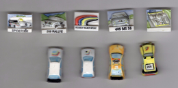 RARE Série 9 Fèves Brillantes ROULE GALETTE - PEUGEOT Talbot Sport RALLYE / PRIME 1994 - Sports