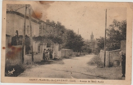 SAINT MARCEL DE CARIERET (30) - AVENUE DE SAINT ANDRE - Autres Communes