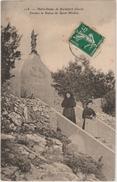 NOTRE DAME DE ROCHEFORT (30) - DEVANT LA STATUE DE SAINT MICHEL - Autres Communes