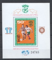W168 BULGARIA FOOTBALL 1BL MNH !!!BL104 30 EURO!!! - World Cup