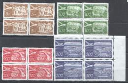 W189 1951 JUGOSLAVIA ARCHITECTURE NATURE #689-692 MICHEL 15 EURO 1SET MNH - Architecture