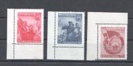 W192 1949 JUGOSLAVIA ART FAMOUS #572-574 1SET MNH - Art