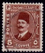 Egypt, 1936, King Fuad, 5m, Scott# 194, Used - Egypt