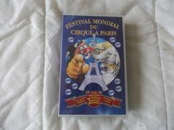 1er Festival Mondial Du Cirque A Paris Pinder 2001 - Videocassette VHS