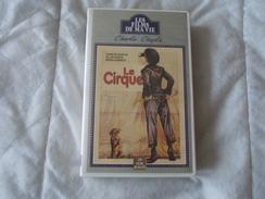 LE CIRQUE CHARLIE CHAPLIN K7 - Video Tapes (VHS)