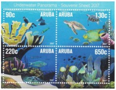 Aruba 2017, Underwater Panorama, Fishes, Turtle, Diving, BF