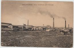 SALINDRES (30) - VUE GENERALE DES USINES - Autres Communes