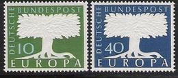 1957 Deutschland Germany  Allem. Fed. Mi. 268-9  **MNH - Europa-CEPT
