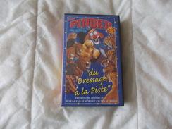 CIRQUE PINDER JEAN RICHARD Du Dressage A La Piste K7 - Video Tapes (VHS)