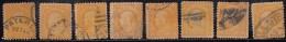 10c Washington Used 1908,  Shades / Perforation / Postmark / Cancellaions, Etc., USA, United States, As Scan - Usados