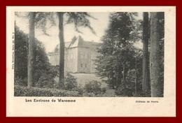 Belgique *  Waremme  * Le Chateau De Heers   ( Scan Recto Et Verso) - Waremme