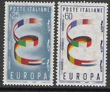 1957 Italien   Mi. 992-3**MNH - Europa-CEPT