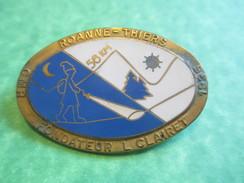 Insigne De Marche Sportive /GMR/ROANNE-THIERS/Fondateur  L Clairey / Fraisse/Paris/1927/Vers 1940-1950     SPO112 - Deportes