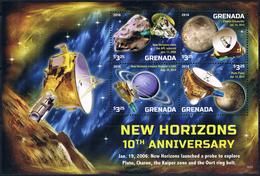 Bloc Sheet Espace Space Neuf ** MNH Grenada 2016 - Espace