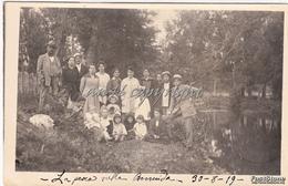 ORMEA_GARESSIO_La Pesca Sulla Bormida_Foto Rajar 30/8/1919_Originale 100% - Cuneo