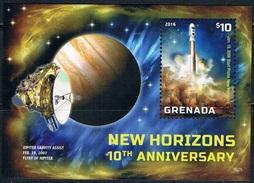 Bloc Sheet Espace Space Neuf ** MNH Grenada 2016
