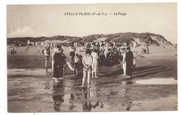 CPA - STELLA PLAGE, LA PLAGE - Cucq, Pas De Calais 62 - Animée - France