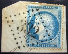 GC 332 - LA BARTHE DE NESLE - HAUTES PYRENEES - Marcophily (detached Stamps)