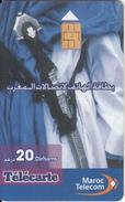 MOROCCO - Traditional, Maroc Telecom 20 Dh, Used