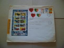 Lettre Recommandée R1 Sans AR Créteil Le 8/06/2000  à Lyon Les N°3297 X2 ;3298 X 2; 3329; 3330; 3331 Et Bloc N°30  TB - Lettres & Documents