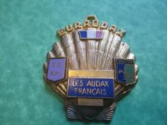 Insigne De Marche Sportive/Euraudax /Les Audax Français/75 Km/MANTES/Vers 1990-2000    SPO113 - Other