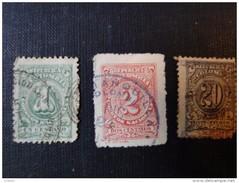 Colombie  Armoiries Y/T N° 180, 186 , 187 MH* - Colombie