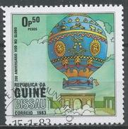 Guinea-Bissau 1983. Scott #442 (U) Manned Flight (Hot Air Balloon) * - Guinée-Bissau