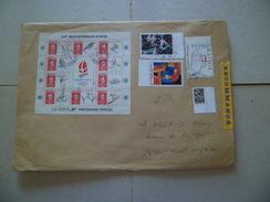 Lettre Recommandée R3 Sans AR Passy 21/12/2008  à Montmeyran Les N°3754 ;2381; 2407:2413 Et Bloc N°14  TB - Lettres & Documents