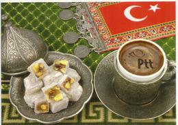 Turkish Delights (Turkish Coffee & Pistaccio Cakes), Postcards Addressed To ANDORRA - Turquie