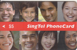 SINGAPORE(GPT) - Faces, CN : 05TFS0603, Used