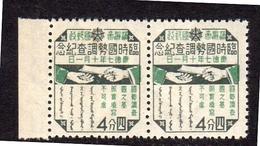 Plate Flaw Position 31: White Dot Under Finger MNH Scarce (m3) - 1932-45 Mandchourie (Mandchoukouo)