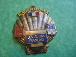 Insigne De Marche Sportive/Euraudax /Les Audax Français/50 Km/VERNON/Vers 1990-2000    SPO114 - Other
