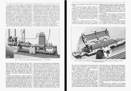 TURBINE A VAPEUR Et MACHINE DYNAMO-ELECTRIQUE DE M. C. A. PARSONS   1888 - Non Classés