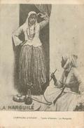Types Albanai:  Le Narguilé Fumeur  Campagne D'orient - Albanie